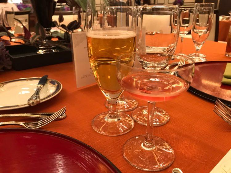 モントレ大阪_ビールとシャンパン